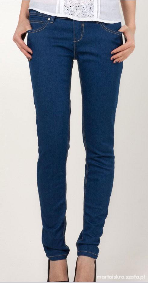 Spodnie dżinsowe ultra skinny...