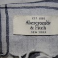 Chusta Arafatka Abercrombie&Fitch Biel Granat