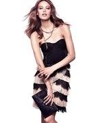 H&M by night czarna sukienka