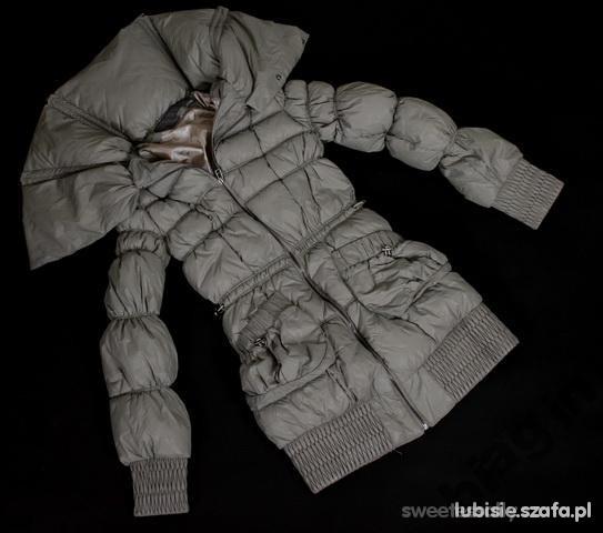 pikowany płaszczyk