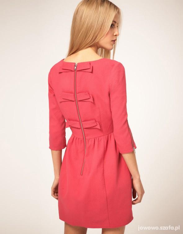 Sukienka ASOS z koardkami ŚLICZNA Babydoll