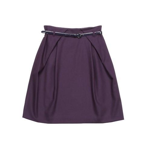 fioletowa spódniczka