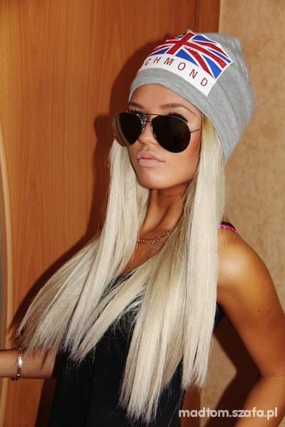 blond włosy długie...