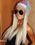 blond włosy długie