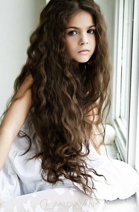 Włosy dziewczynki...