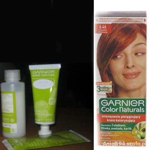 Włosy Garnier Color Naturals czerwień miedziana