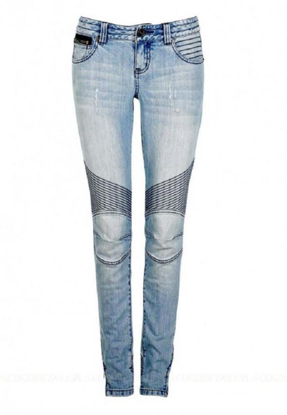 Cubus z przeszyciami extra jeansy
