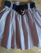 H&M pudrowy róż spódnica