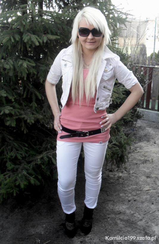 Mój styl kurteczka spodnie i git