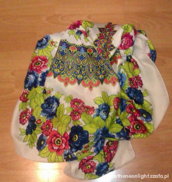 Chusty i apaszki chusta h&m floral