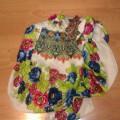 chusta h&m floral