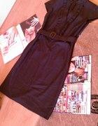 Elegancka sukienka do biura XXL