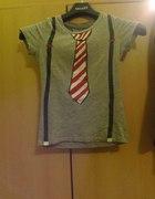 BERSHKA BLUZKA z krawatemszelkami KOSZULKA S XS...