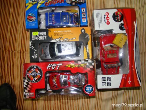 Zabawki auta zdalnie sterowane
