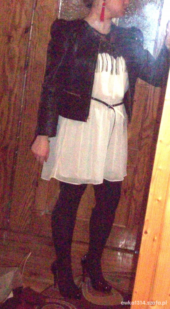 Na specjalne okazje sukienka z koronka