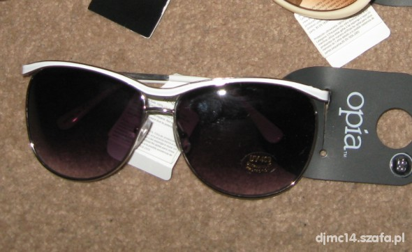 okulary przeciwsłoneczne opia primark
