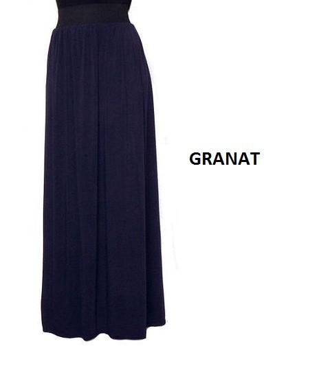 Granatowa spódnica maxi w Ubrania Szafa.pl