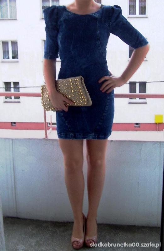 Mój styl jeansowo plus nude