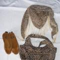 torebka panterka i chusta apaszka
