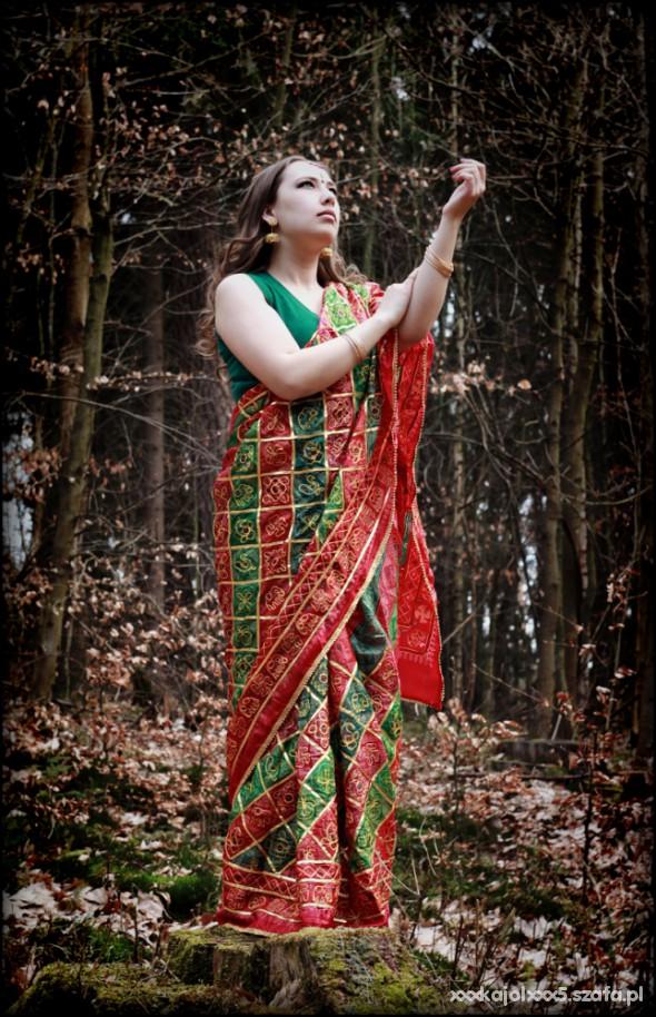 Mój styl Moje sari