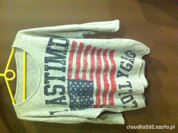sweterek z flagą