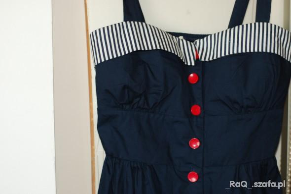 Suknie i sukienki sukienka marynarska miso