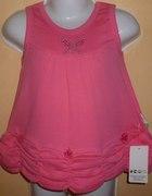 śliczna różowa sukienkadrapowany dółrozmiar 104...