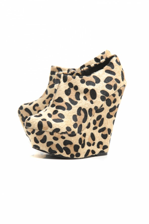 Cheetah Pony Skin Wedges