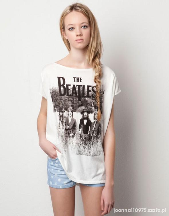 Bluzki The Beatles Pull and Bear