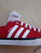 Czerwone trampki adidas