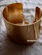 złota bransoletka H&M
