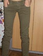 Rurki bojówki jeansy military