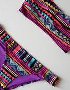 bikini w azteckie wzory