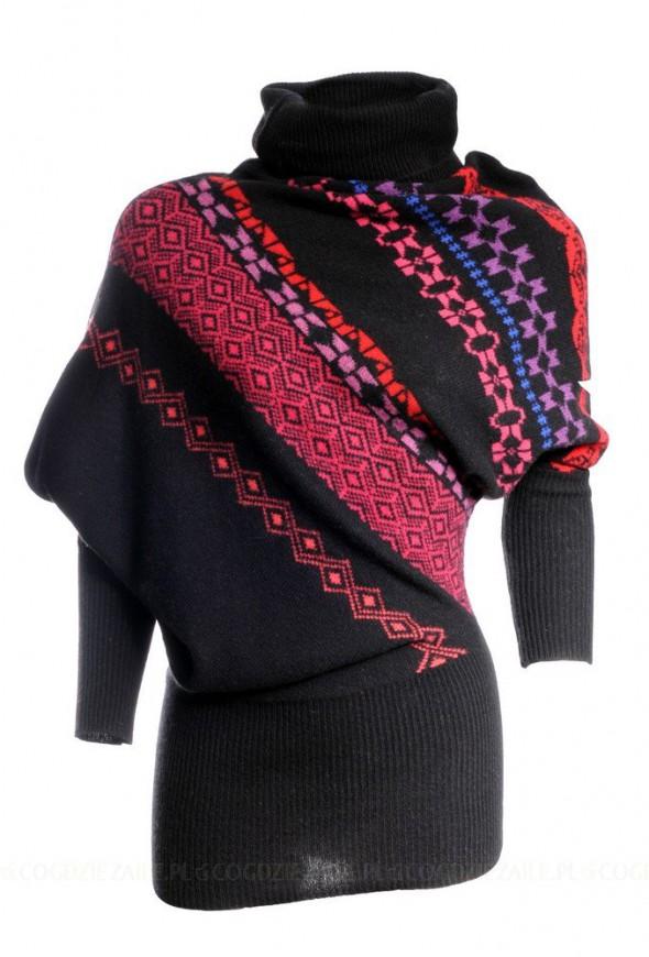 Ciepły i oryginalny sweter Solar...