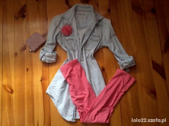 Do szkoły koszula jeansss