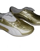 PUMA Orginalne buty złoto białe 39