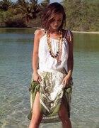 Lato zwiewna sukienka kobieco i na luzie