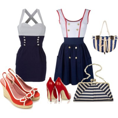 Sukienka marynarska NEW YORKER