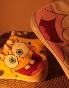 Malowane trampki Spongebob