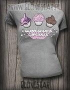 koszulka glovestar s CUPCAKES...