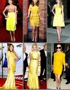 Cytrynowa kanarkowa żółta