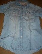 długa koszula dżinsowa