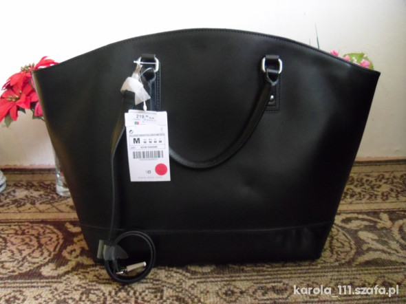 ZARA BASIC SHOPPER BAG