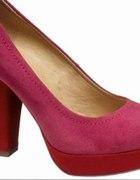 Szpilki różowe Catwalk Deichmann