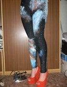Galaxy kosmos legginsy