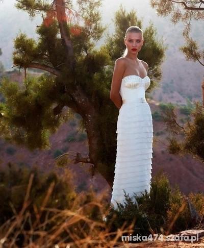Na specjalne okazje Piękna suknie ślubna