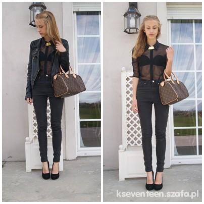 Eleganckie simply black