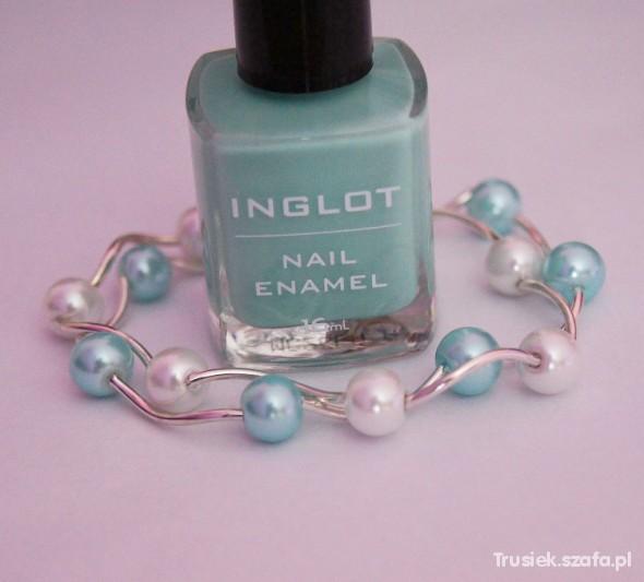 Paznokcie Miętowy Inglot