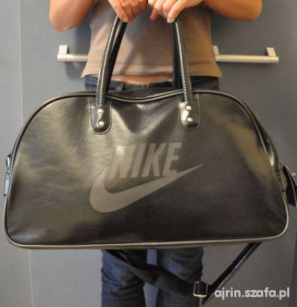 00579bd38e8eb NOWA torba Nike XXL skóra Oldschool w Torebki na co dzień - Szafa.pl