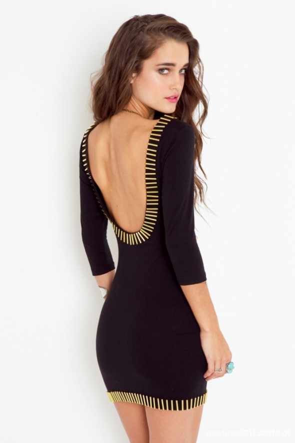 Eleganckie poszukiwana sukienka